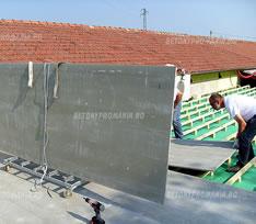 Placi Betonyp folosite la terase